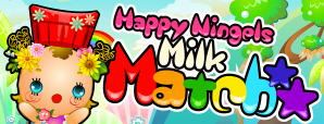 Milk match mini game facebook banner